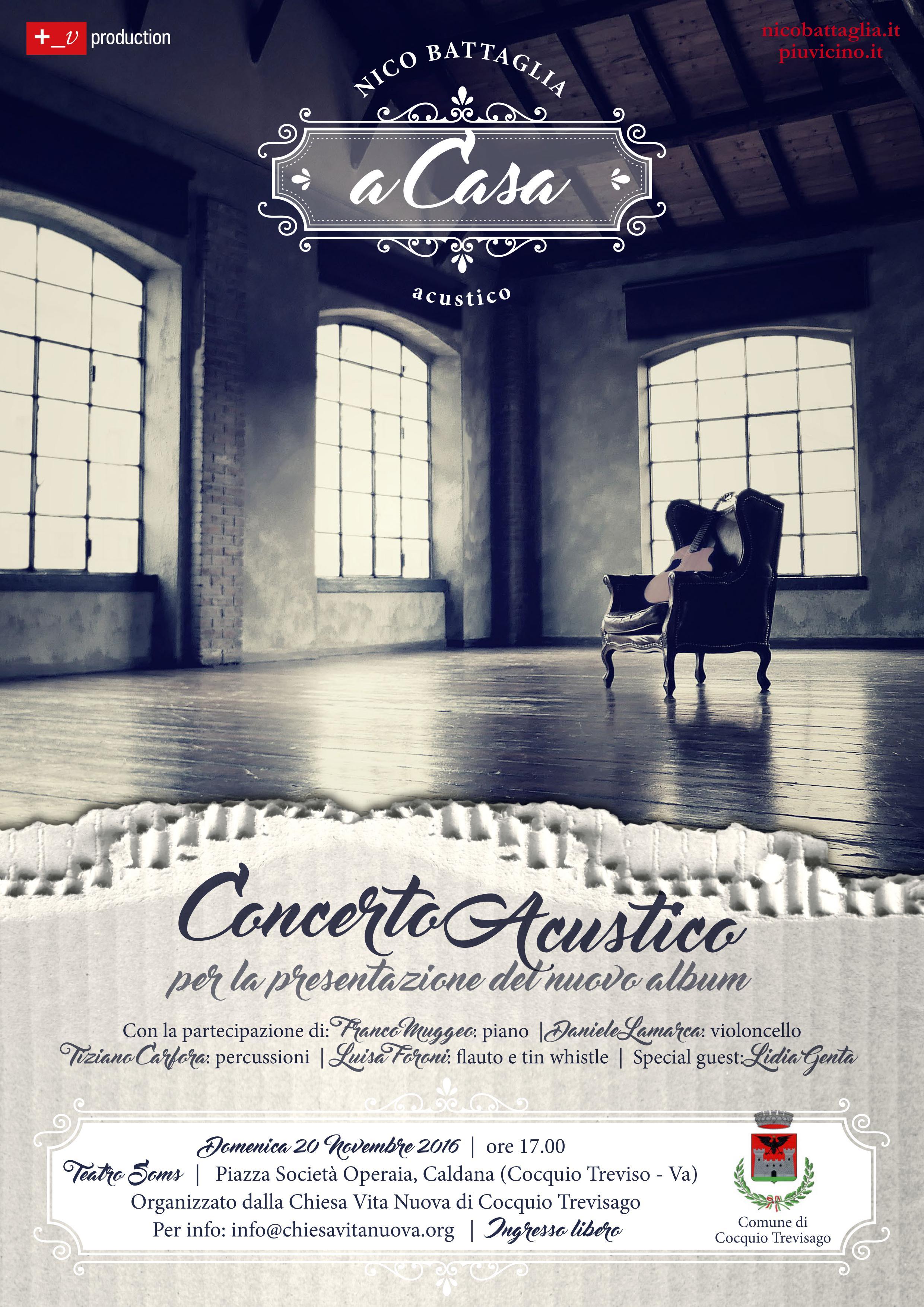 Concerto di Nico Battaglia-A Casa