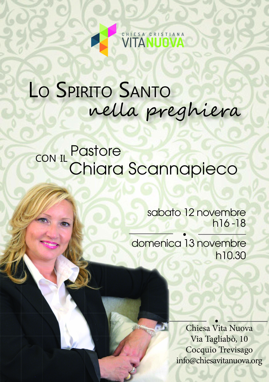 Ospite Pastore Chiara Scannapieco-Lo Spirito Santo nella Preghiera